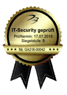 IT-Security geprüft Siegel